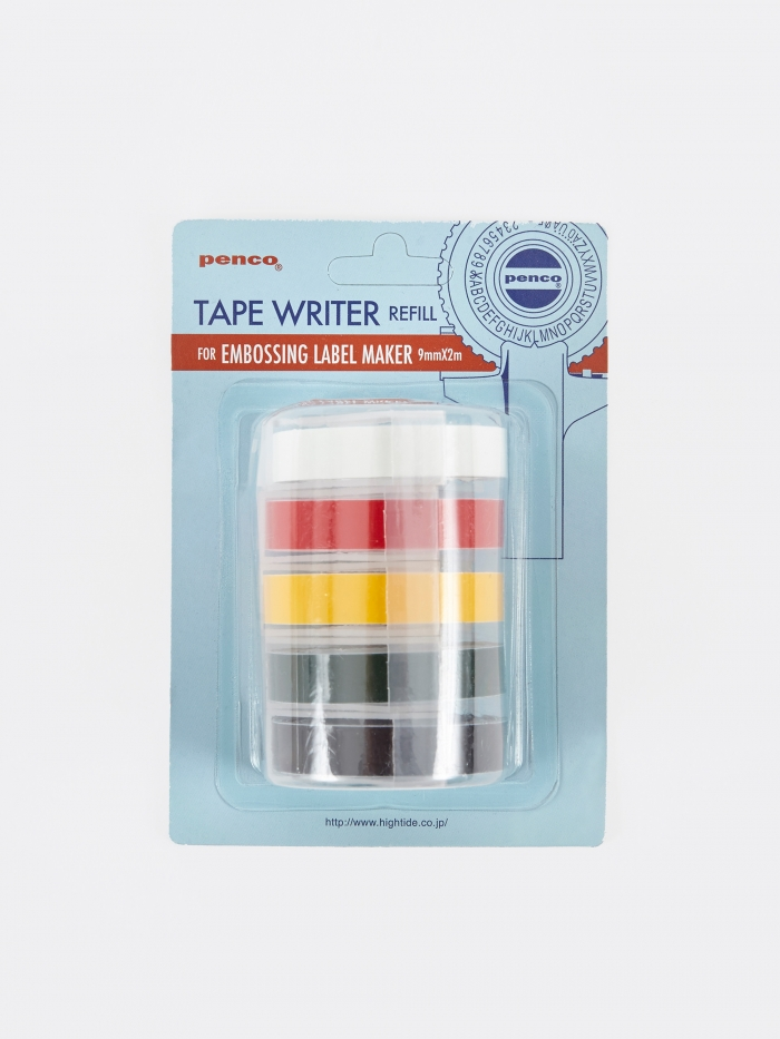 Hightide | Penco Hightide Penco Embossing Label Maker Refill - Set Of 5 (Image 1)