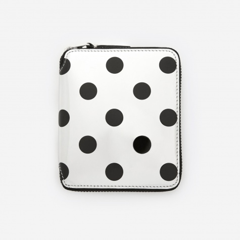 Comme des Garcons Wallet Optical Group (SA2100GA) - Dot/Silver