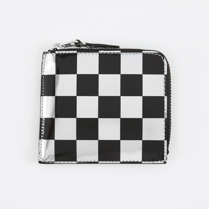 Comme des Garcons Wallets Optical Group (SA3100GA) - Check/Silve (Image 1)