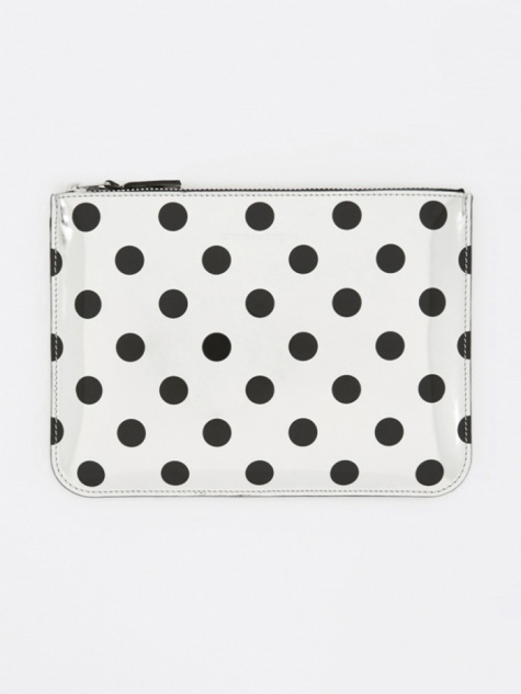 Comme des Garcons Wallet Optical Group (SA5100GA) - Dot/Silver