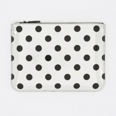 Comme des Garcons Wallets Optical Group (SA5100GA) - Dot/Silver
