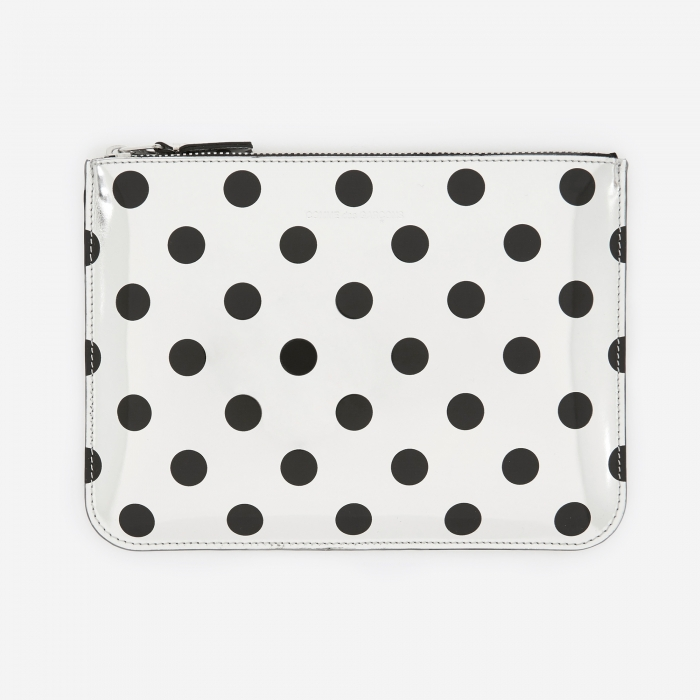 Comme des Garcons Wallets Comme des Garcons Wallet Optical Group (SA5100GA) - Dot/Silver (Image 1)