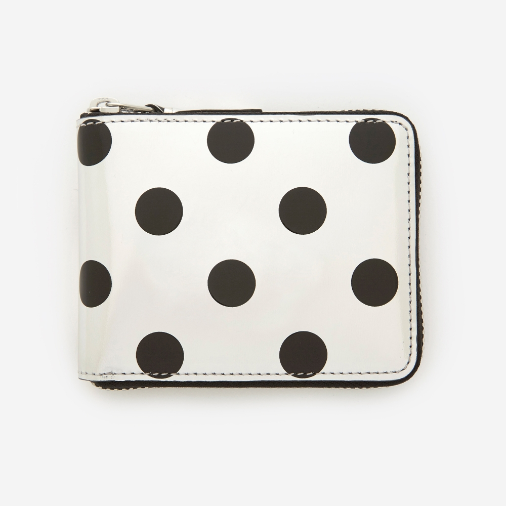Optical large zip around wallet Comme Des Gar?ons 4hpc3vx