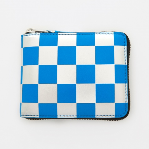 Comme des Garcons Wallet Optical Group (SA7100GB) - Check/Blue