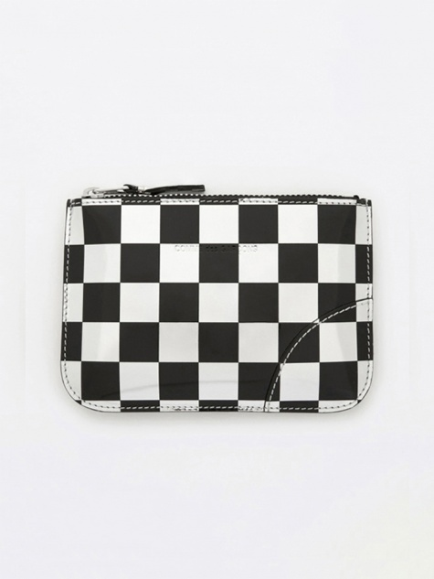 Comme des Garcons Wallet Optical Group (SA8100GA) - Check/Silver