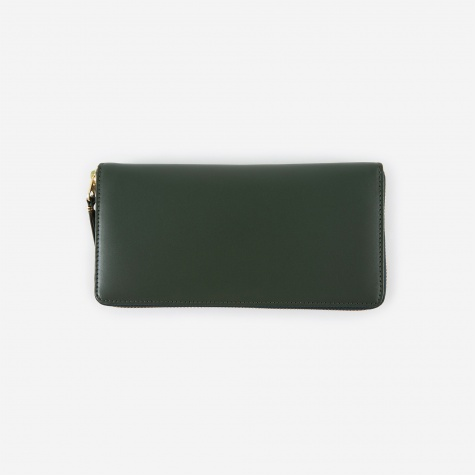 Comme des Garcons Wallet Classic Leather (SA0110) - Bottle Green