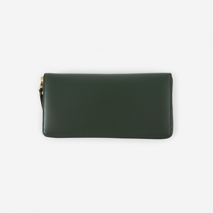 Comme des Garcons Wallets Classic Leather (SA0110) - Bottle Gree (Image 1)