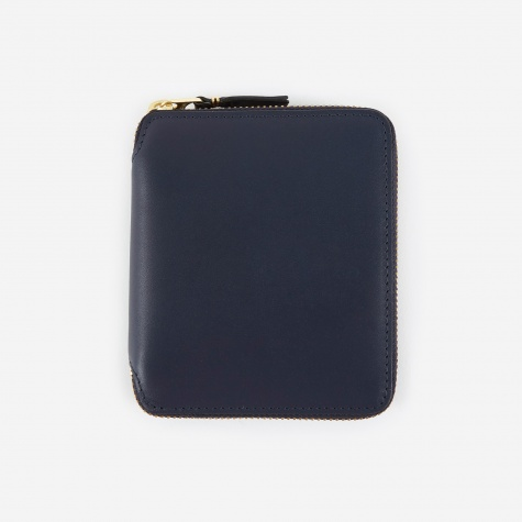 Comme des Garcons Wallet Classic Leather (SA2100) - Navy