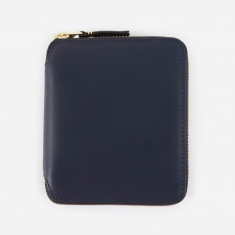 Comme des Garcons Wallets Classic Leather (SA2100) - Navy