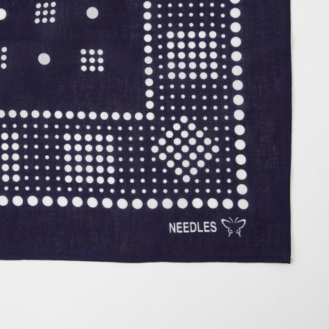 Bandana Geometric/Polka Dot - Purple