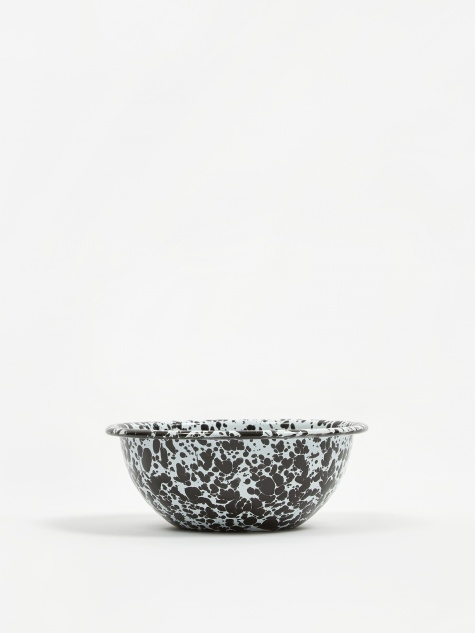 Cereal Bowl - Black Marble