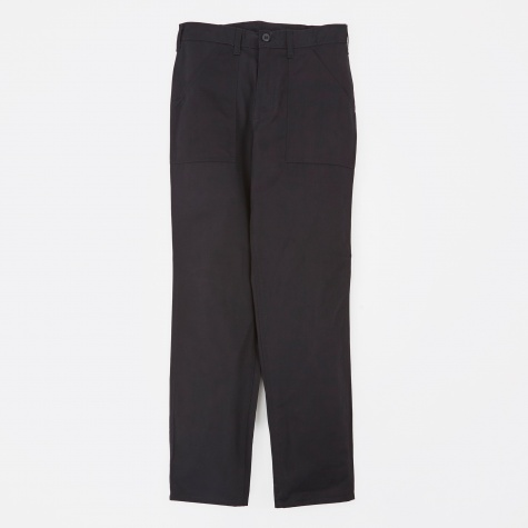 Taper Fit 4 Pocket Fatigue Trousers 8.5oz - Black