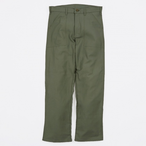 OG107 4 Pocket Fatigue Trousers 8.5oz - Olive Drab Sate