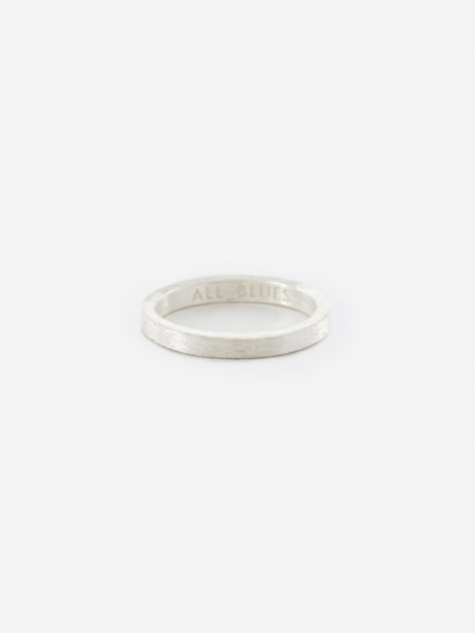 Square Ring - Brushed Silver