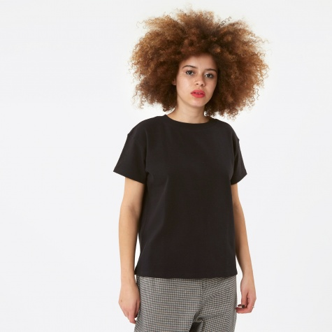 Vintage Simple S/S Yeshe T-Shirt - Black
