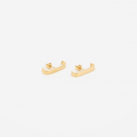 TRAIL Earrings (Pair) - 18K Gold Plated