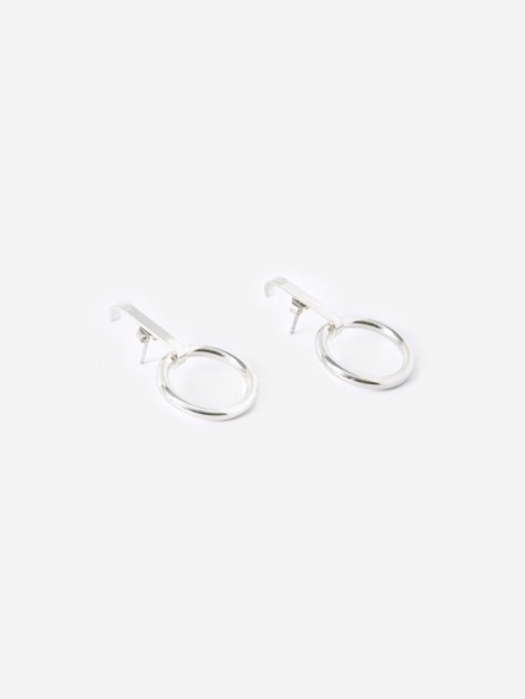 TRAIL Loop Earrings (Pair) - 925 Sterling Silver