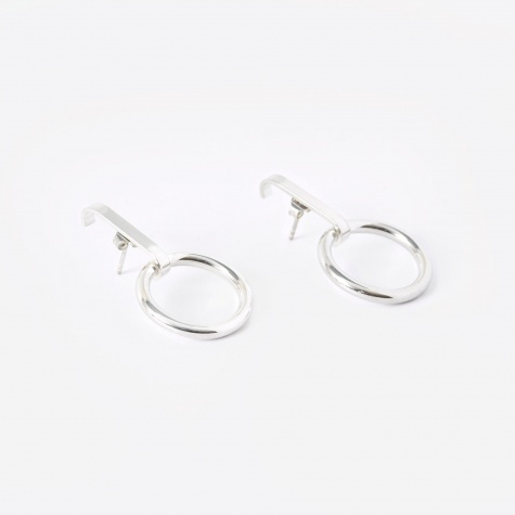 TRAIL Loop Earrings (Pair) - Sterling Silver