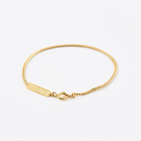 FACET Cable Bracelet - 18K Gold Plated