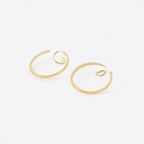 PACK Twist Earring (Pair) - 18K Gold Plated