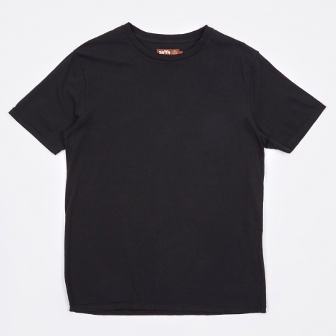 Basic Organic T-Shirt - Washed Black