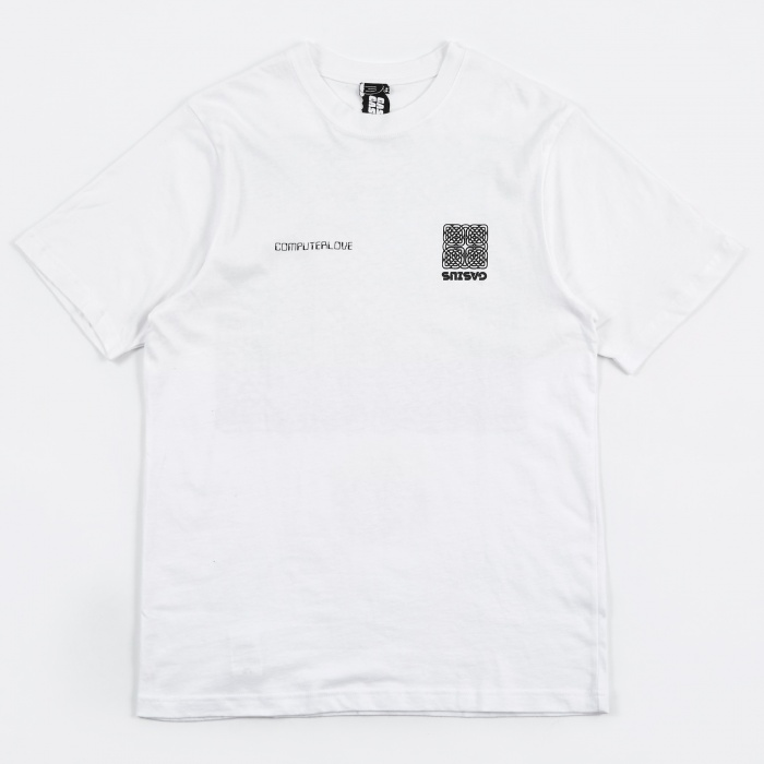 Gasius Network T-Shirt - White (Image 1)