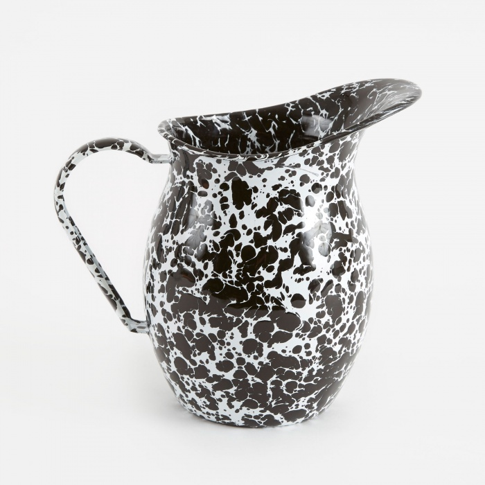 Crow Canyon Home Small Pitcher - Black Marble (Image 1)