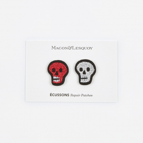 Skull Head Repair Patches