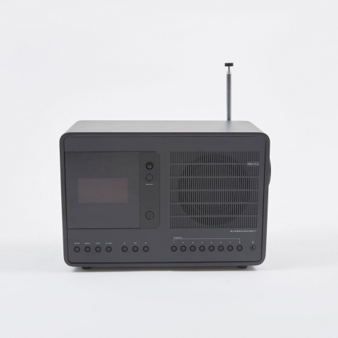 SuperConnect WiFi/DAB/DAB+/FM Radio - Shadow Edition