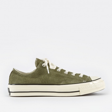 1970s Chuck Taylor All Star Ox Suede - Medium Olive/Egr