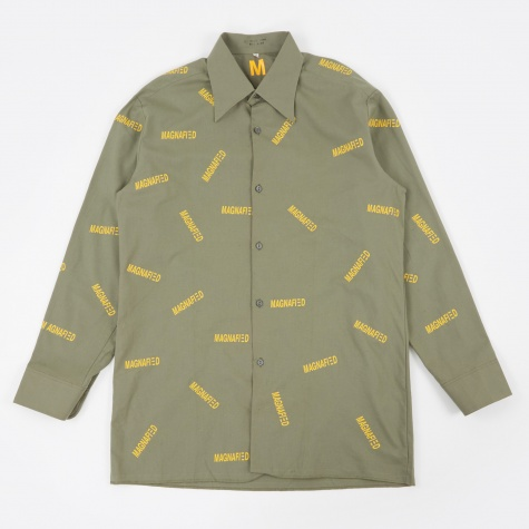M21 Shirt Multi Print - Yellow