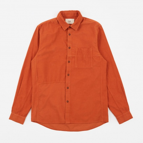 Fragment Shirt - Burnt Orange