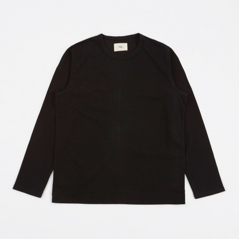 Longsleeve Panel T-Shirt - Black