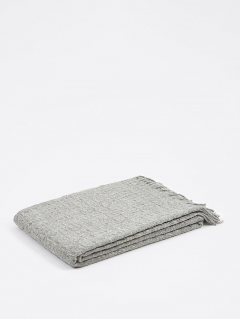 Twist Throw 130x200cm - Light Grey