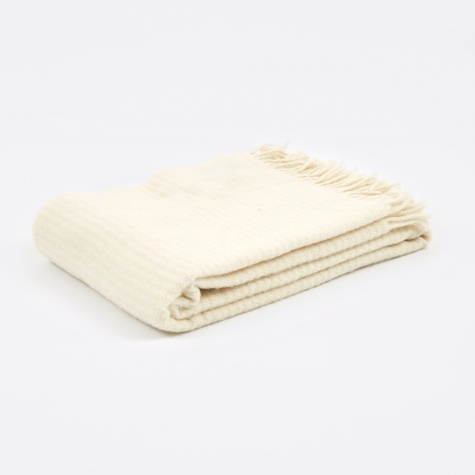 Ralph Throw 130x200cm - Ivory