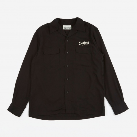 50's Shirt -B- (Type-4) - Black
