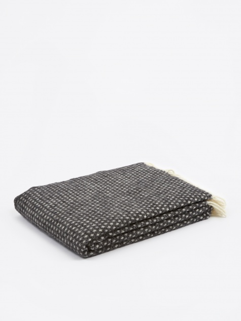 Knut Throw 130x200cm - Dark Grey