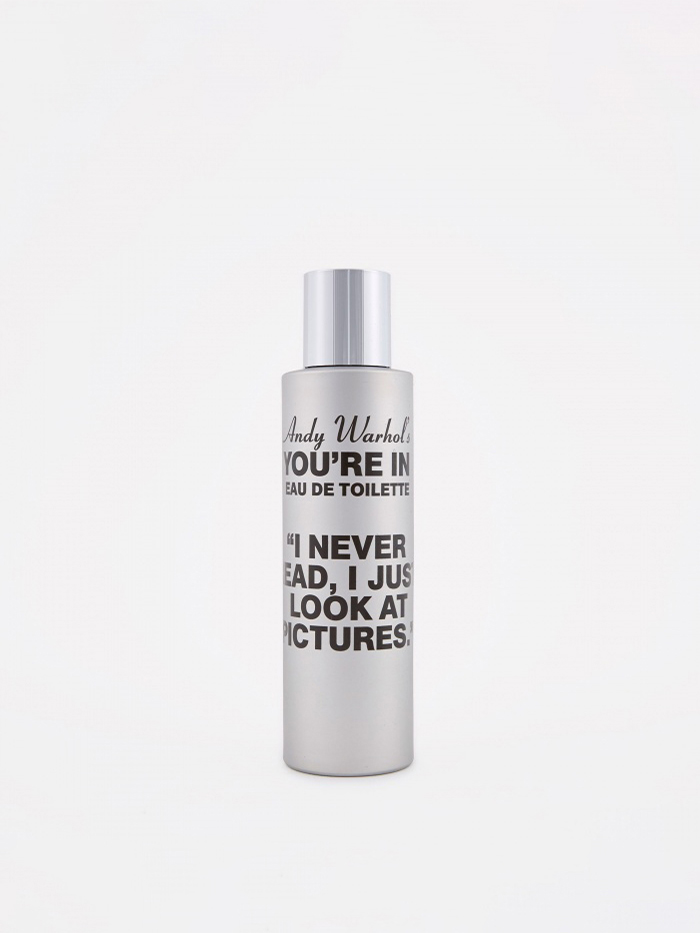 "Comme des Garcons Parfums CDG x Andy Warhol ""You're In"" I Never Read Eau de Toilette (Image 1)"
