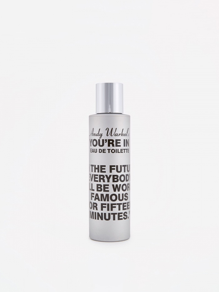 "Comme des Garcons Parfums CDG x Andy Warhol ""You're In"" In the Future Eau de Toilette (Image 1)"