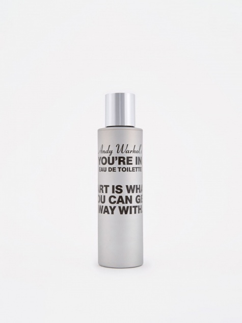 "CDG x Andy Warhol ""You're In"" Art Is Eau de Toilette"
