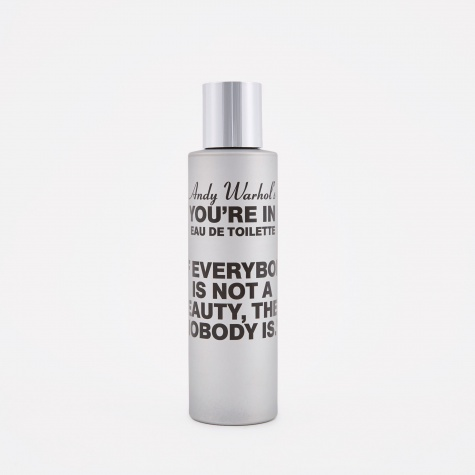 "CDG x Andy Warhol ""You're In"" If Everybody Is Not A Beauty Eau d"
