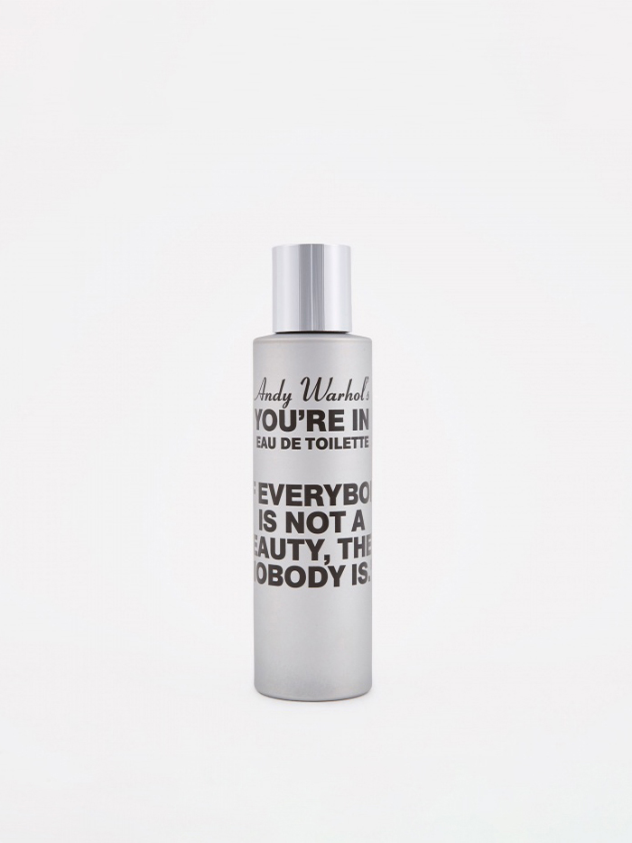 "Comme des Garcons Parfums CDG x Andy Warhol ""You're In"" If Everybody Is Not A Beauty Eau d (Image 1)"