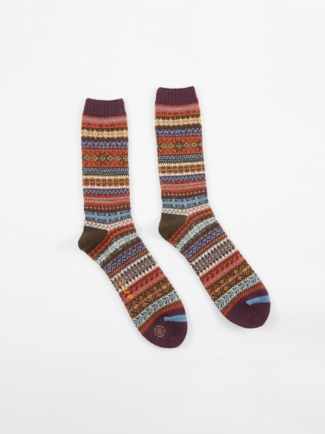 CHUP Northern Lights Socks - Purple