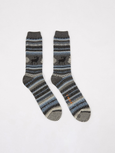 CHUP Kaamos Socks - Charcoal