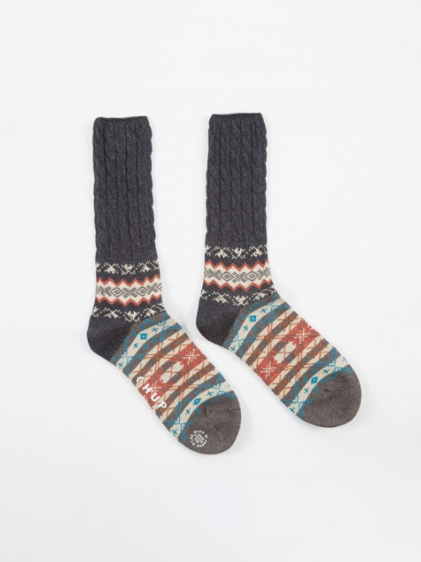 CHUP Winter Garden Socks - Navy