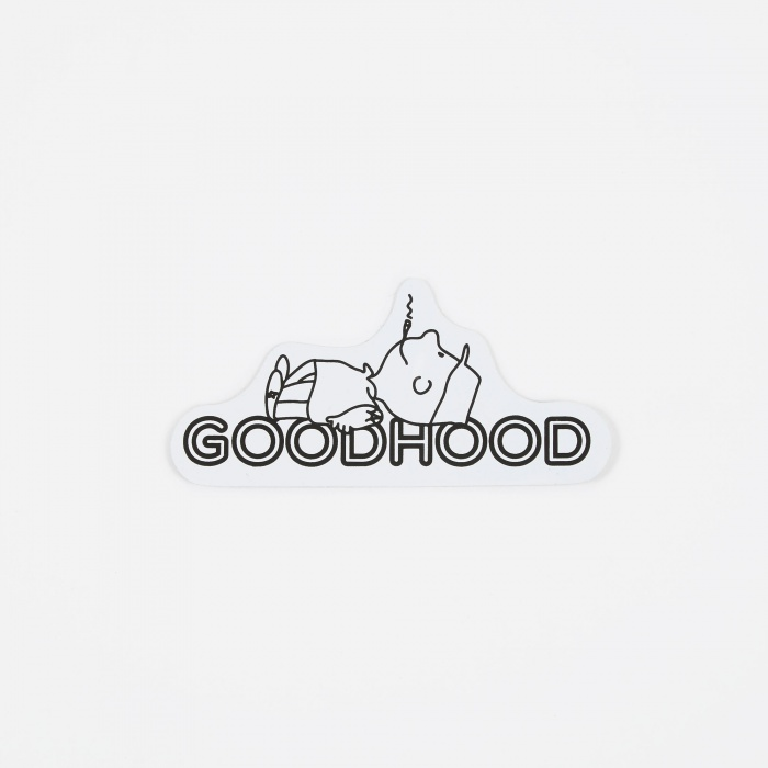 Human Being Sticker   White by Goods By Goodhood