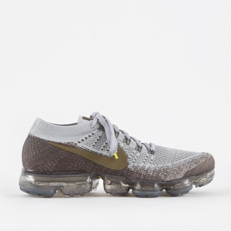 NikeLab Air Vapormax Flyknit Running Shoe - Midnight Fog/Me