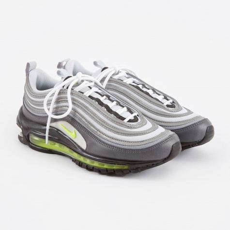 Women's Air Max 97 Shoe - Dark Grey/Volt-Stealth-Pure Plat