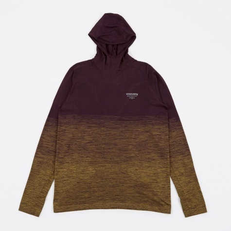 DF Knit Top - Ink/Desert Moss
