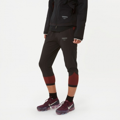 3QT Pant - Black/Dark Team Red/Lt Ore